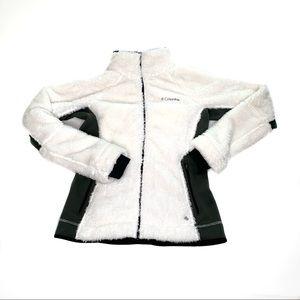 Columbia Furry Full Zip Thumb Hole Fleece Jacket